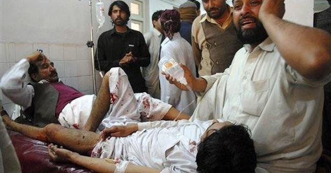 Taliban suicide bomber kills 15 in Pakistan