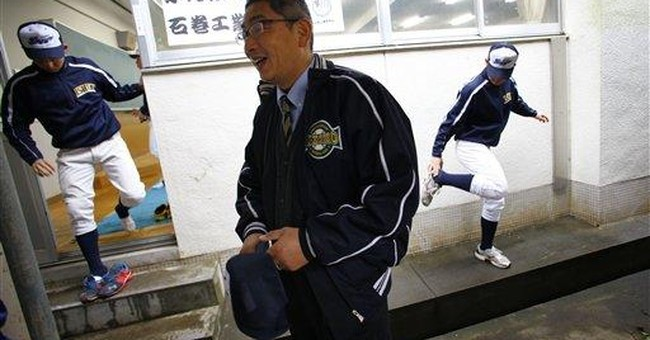 Japanese school baseball team a symbol of recovery