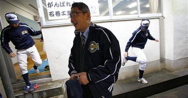 Japanese school baseball team a symbol of recovery