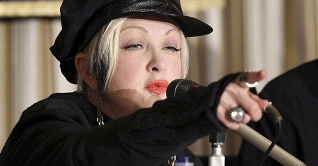 1 year later, Cyndi Lauper urges support for Japan