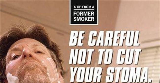 CDC launching graphic anti-smoking ad campaign