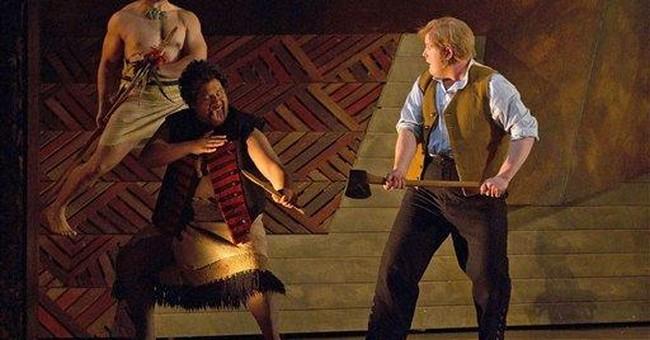 New opera celebrates imprisoned Maori hero