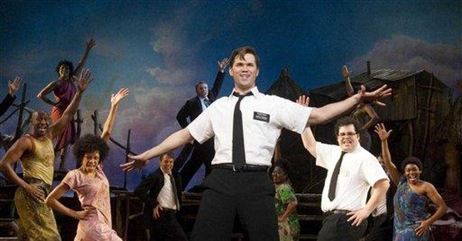 'The Book of Mormon' celebrates with giveaway