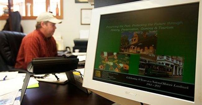 Deadwood balances rough image with modern gambling