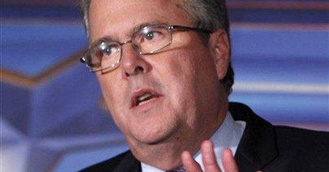 Morning after Illinois win, Jeb Bush backs Romney