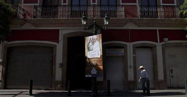 Pope visits heart of conservative Catholic Mexico