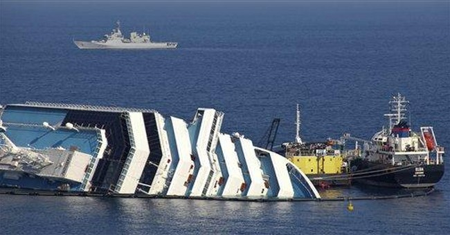 Divers recover 5 bodies from Italy cruise wreck