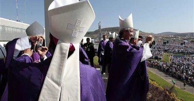 Pope to Mexico: Have hope, use faith against evil