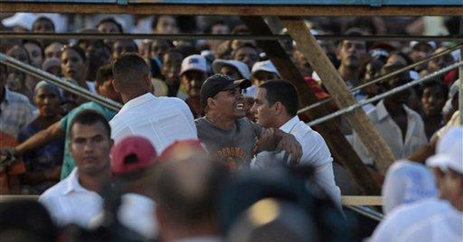 Cuba dissidents concerned for mystery protester