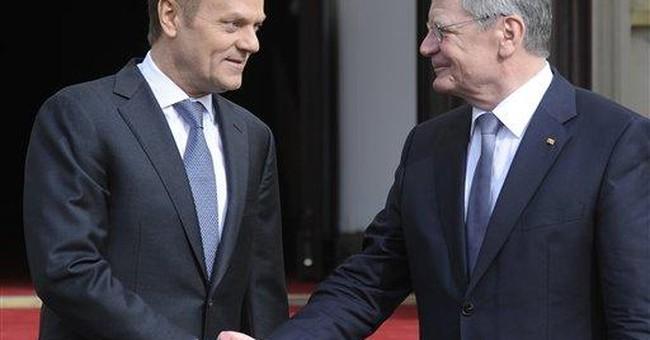 German president praises Poland as land of freedom