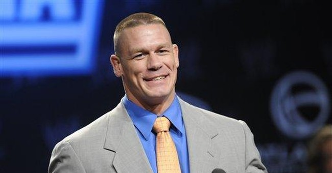 WWE star John Cena takes a stand against bullying