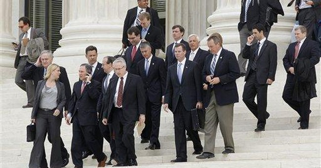 Congress gets rough treatment at Supreme Court