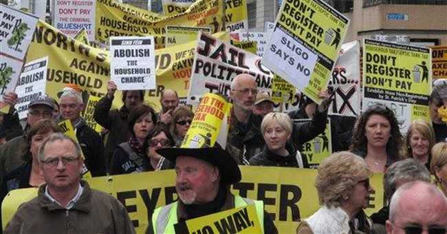 Ireland faces popular revolt over new property tax