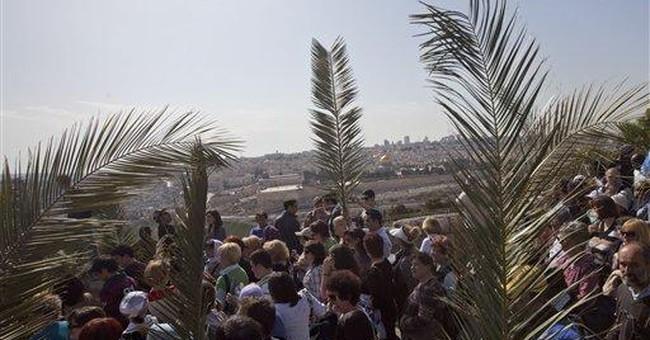 Christians mark Palm Sunday in Jerusalem