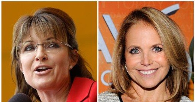 Palin and Couric: No drama on morning TV showdown