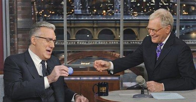 Olbermann says Current TV wasn't the home for him
