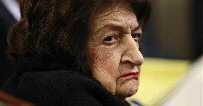 Palestinians honor columnist Helen Thomas