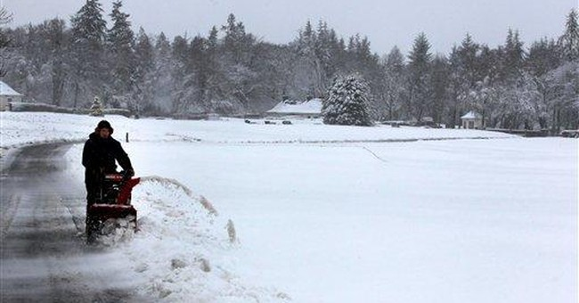 Snow in Scotland just days after heat wave