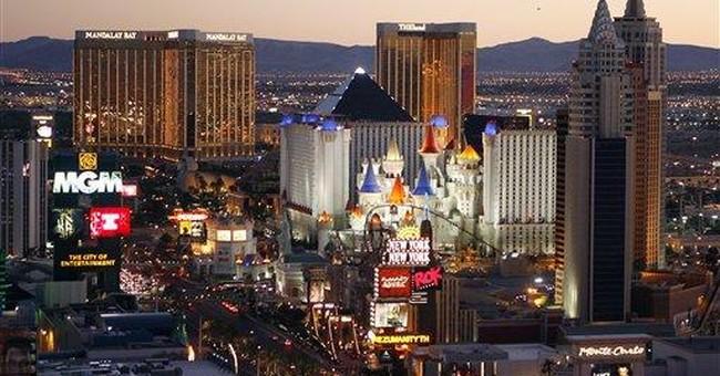 In Vegas, eyes roll after fed spending scandal