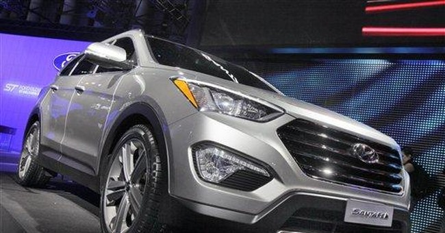 Hyundai enters family hauling market with Santa Fe