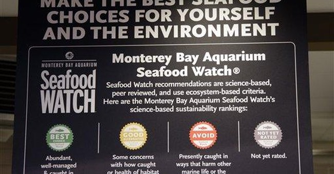 Whole foods to stop sale of unsustainable seafood ap news for Whole foods fish on sale this week