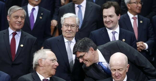 World finance leaders issue sober assessment
