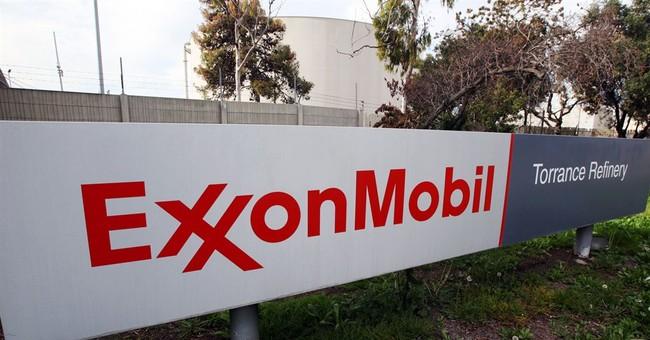 Exxon 1Q earnings rise but production slips again