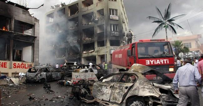 Syria-linked group blamed in Turkey blasts; 43 die