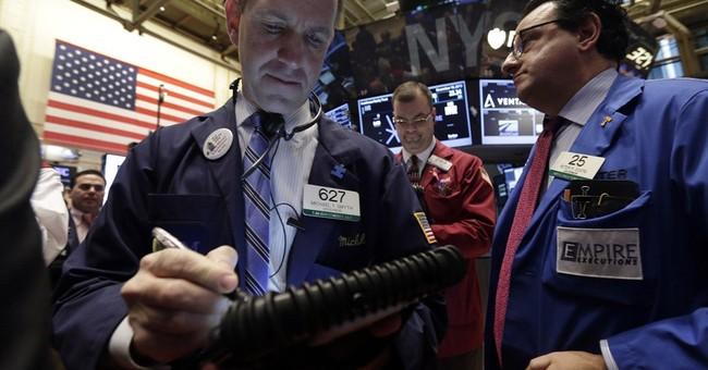 Stocks up on job market news; Bond yields rise