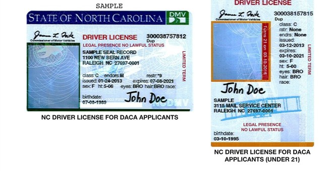 NC scraps proposed pink-striped license for some