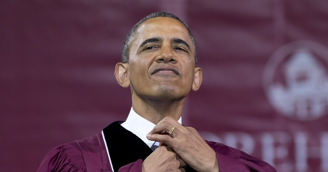 Obama Got Black at Morehouse But Didn't Speak the Truth