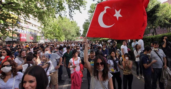 Riots in Turkey No Arab Spring