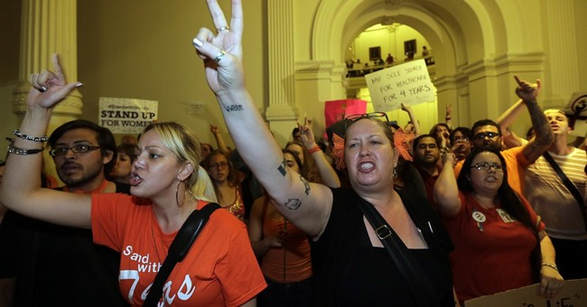 """Today in Texas, Abortion Activists Reportedly Plan on """"Getting Arrested"""""""