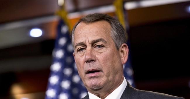 A Profile in Failure: John Boehner