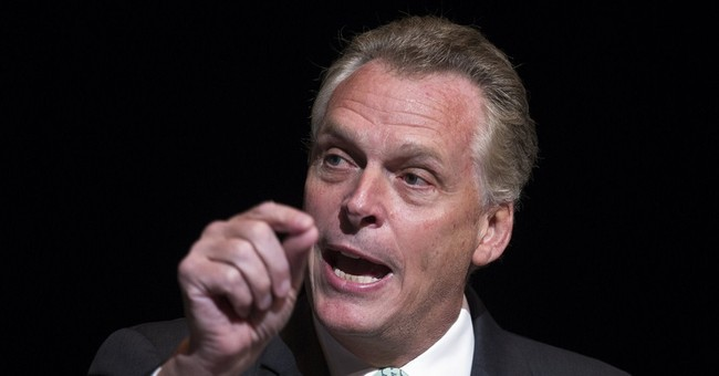 Awkward: McAuliffe Whiffs on Policy...Again