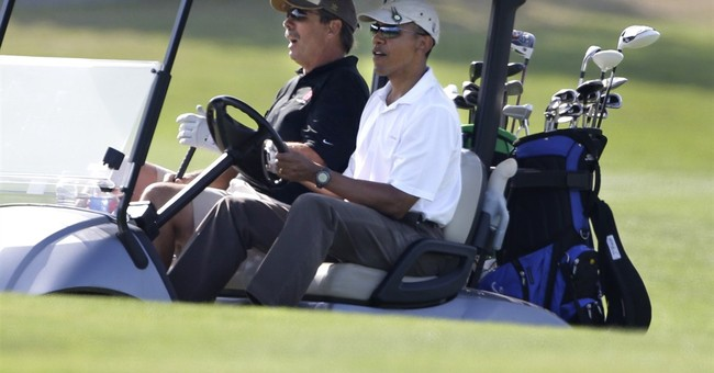 Uh, oh. . . Barack's Back From Vacation