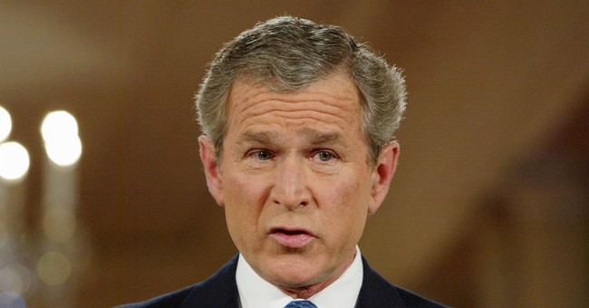 Video: George W. Bush is Responsible for the Government Shutdown, or Something