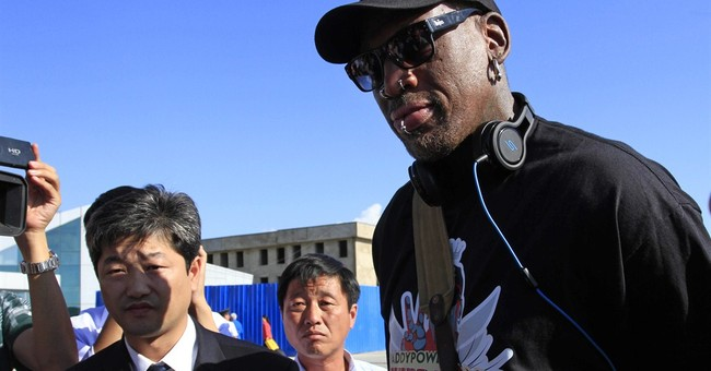 Obligatory Post: Dennis Rodman Goes to North Korea…Again