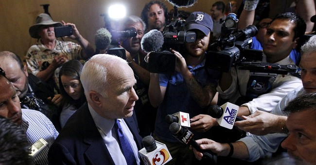 Surprise: McCain Gets Heckled at Townhall Meeting on Syria