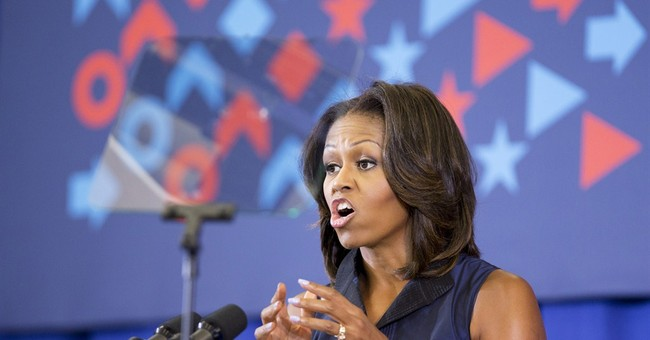 Michelle Obama Opposes Syria Strike