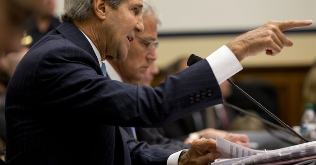 "WaPo: Kerry Gets ""Four Pinocchios"" For Saying He Opposed the Iraq War"