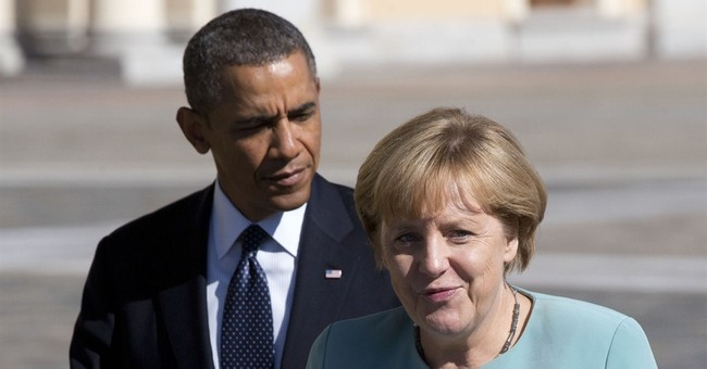 Memo to Merkel: Tell Obama to Take a Hike