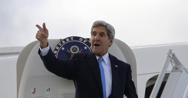 John Kerry Hits A Bump