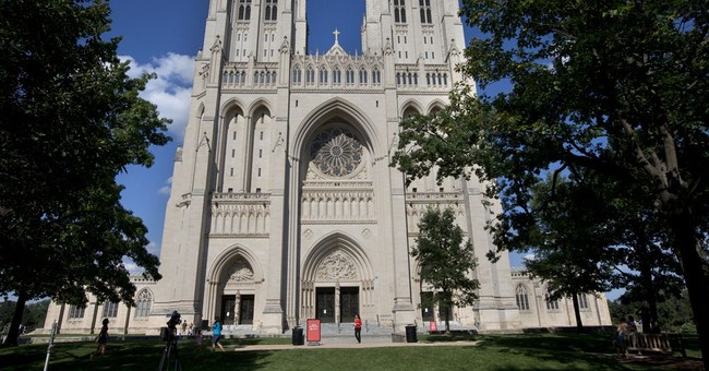 Nave or Navel? National Cathedral Goes Off Deep End