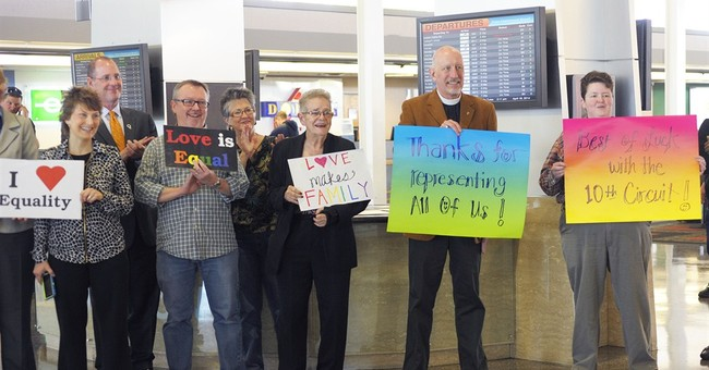 Judge asks pointed questions in gay marriage case