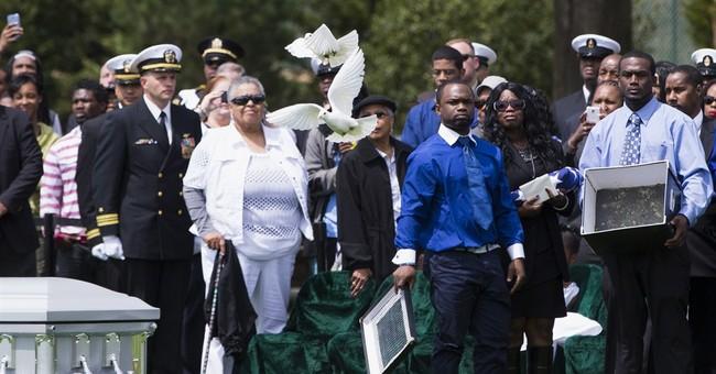 Slain Md. sailor buried as hero at Arlington