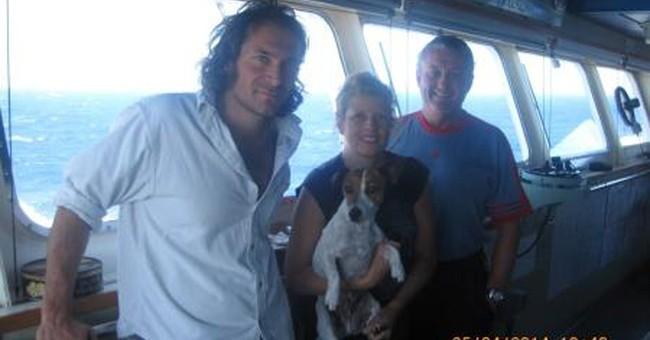 Coast Guard coordinates rescue of 3 people, dog