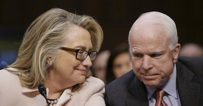 McCain-Clinton bond crosses partisan waters