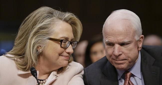 McCain-Clinton bond crosses partisan waters