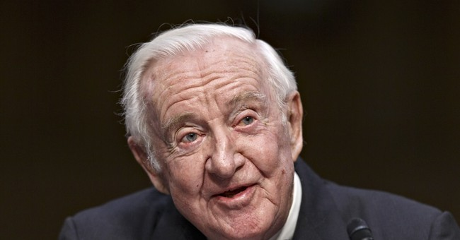 Former Justice Stevens: Campaign cash isn't speech